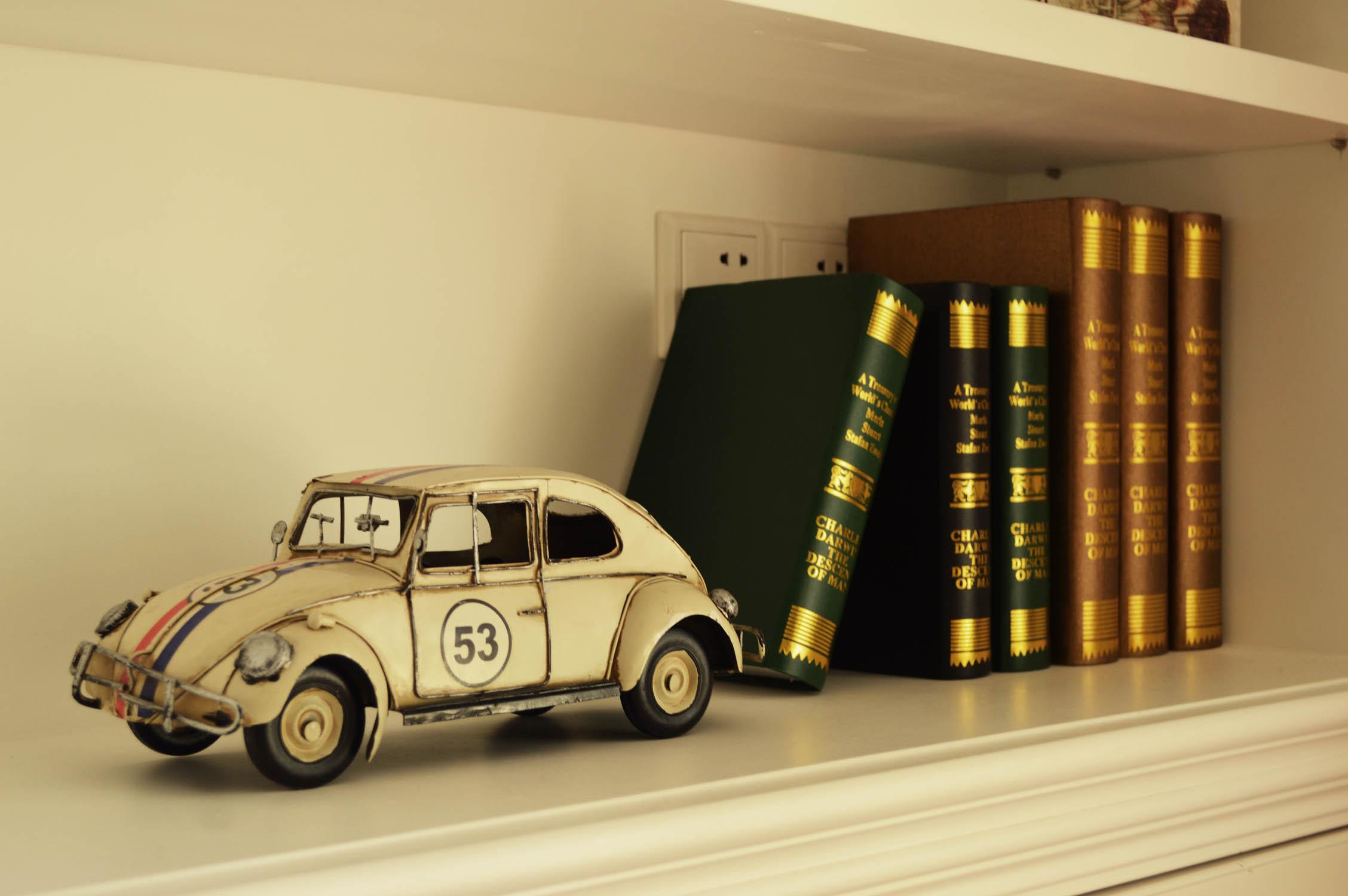 书房书架效果图