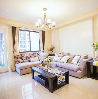 110平简美风格三居装修设计