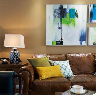 140平混搭四居室装修设计图