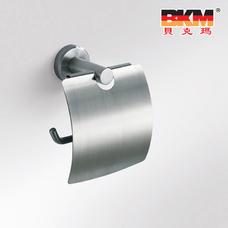 贝克玛卫浴 五金挂件 BKM-WJ0307GL 纸巾架 SUS304不锈钢 拉丝面|【SUS304不锈钢】厂家直销