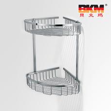 贝克玛卫浴 五金挂件 BKM-WJ0320GL 双层转角网篮 SUS304不锈钢|【SUS304不锈钢】厂家直销