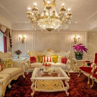新法式公寓装修设计 奢华璀璨