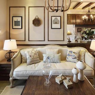 法式二居装修设计 温馨美好