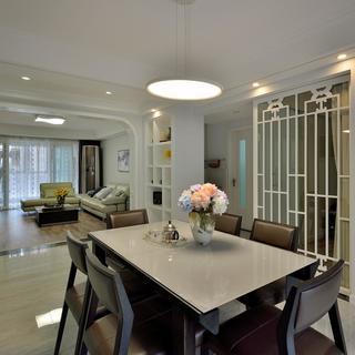 三居室现代中式家 禅境空间
