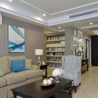 现代美式四居室装修 简约温馨
