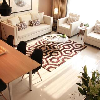 简约小户型一居室装修设计图