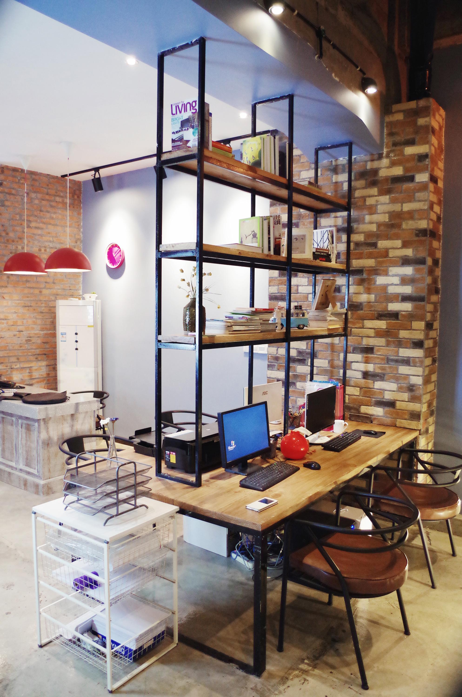 80㎡简约办公室装修独立办公区