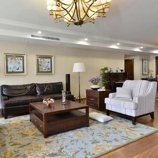大户型美式四居室装修设计图
