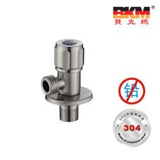 SUS304不锈钢 无铅 三角阀 台盆水槽马桶 BKM-PJ4101GL 贝克玛卫浴