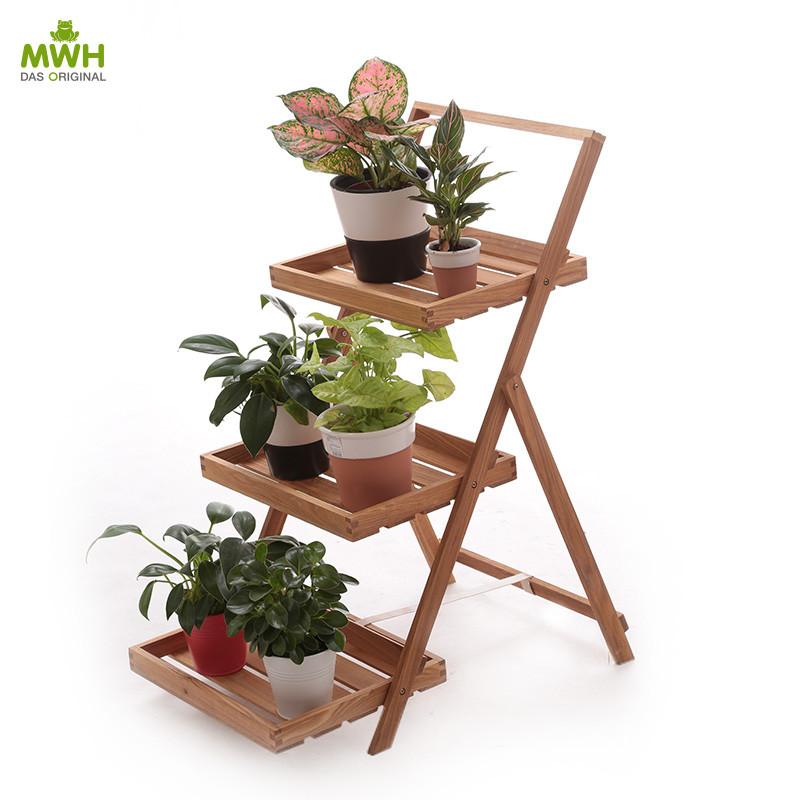 MWH木质花架-阿提卡3层花架3100010