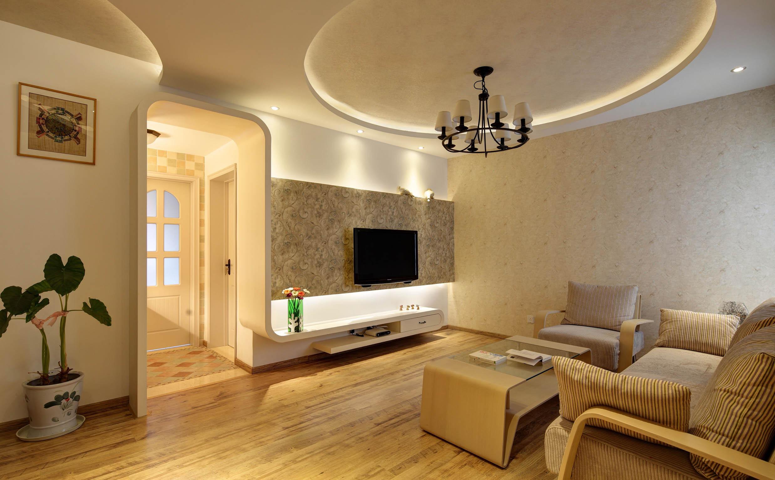 地中海美式风格家电视背景墙图片图片