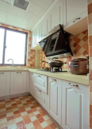 二居室简欧风格家厨房搭配图
