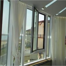 【万增门窗】中国品牌 乳白色 上海美亚宝断桥内开内倒式门窗