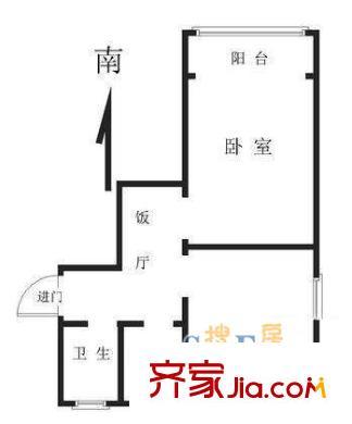 上海 宛南华侨新村 户型图