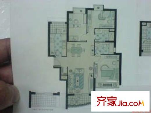 瑞虹新城二期 0室 户型图