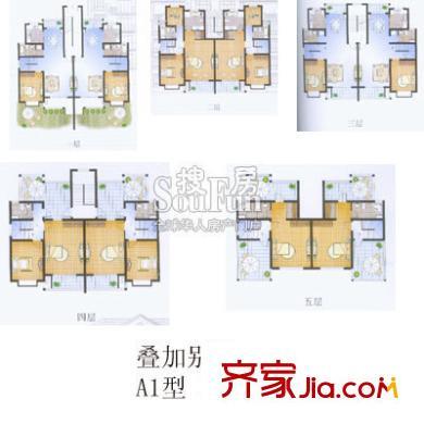 上海 浪琴水岸花园 户型图