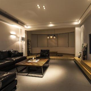 现代简约二居装修设计 大方简洁