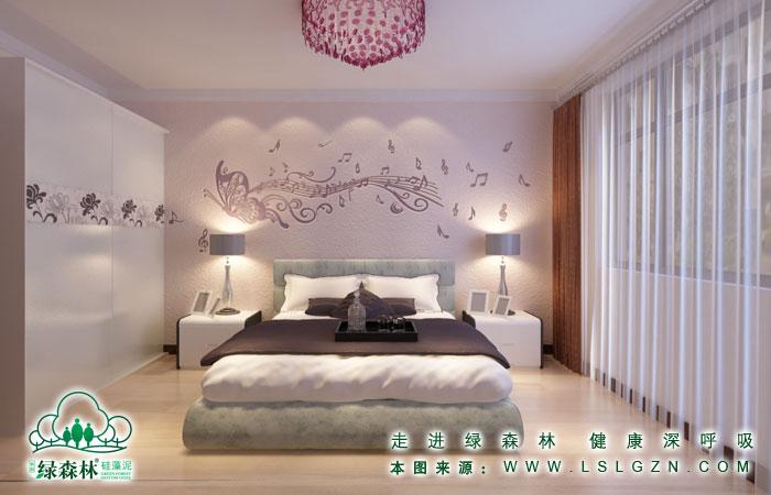 硅藻泥效果图片卧室装修欧式