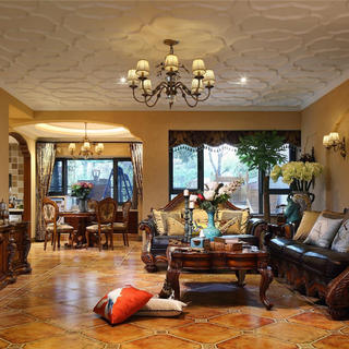 大户型美式别墅装修设计图
