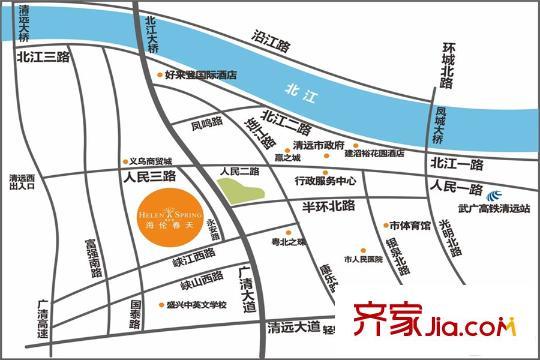 广州清远海伦春天小区详情和图片