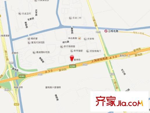 富锦苑交通图