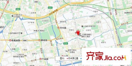 华安公寓(浦东)交通图