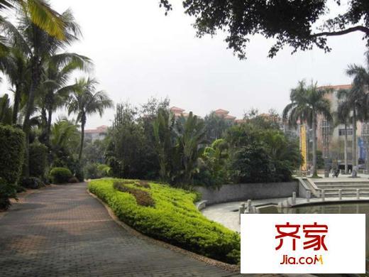 广州金海岸花园别墅小区装修案例