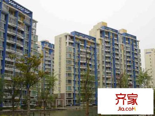 上海蔚蓝城市花园户型图,装修效果图,实景图,交通图