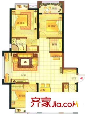 青岛胶州湾财富中心财富公寓户型图-齐家网小区库