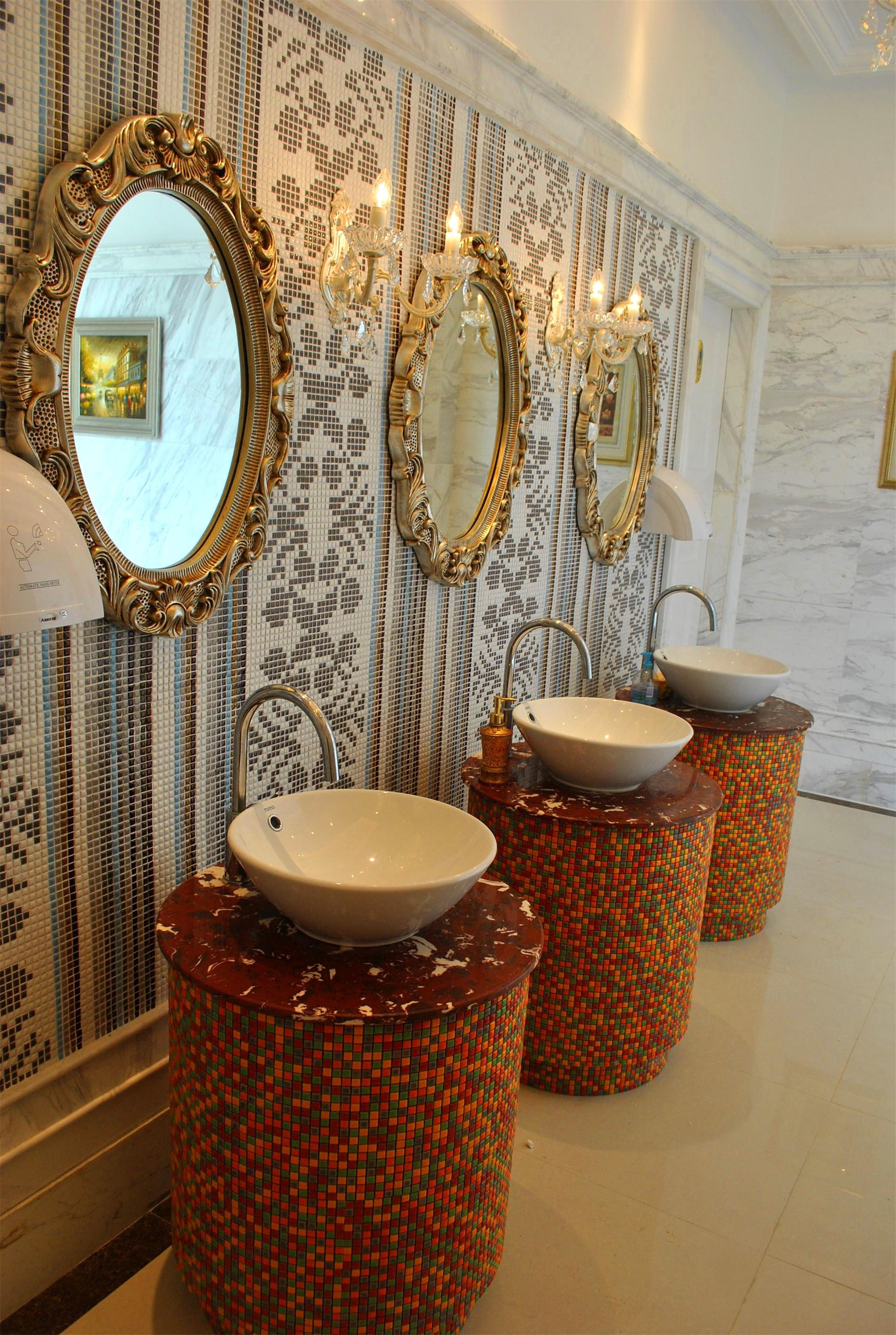欧式风格客厅暖色调1m卫生间装潢_齐家网装修效果图