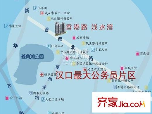 武汉香港路浅水湾小区装修案例