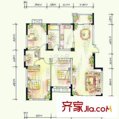 武汉东湖楚世家户型图,装修效果图,实景图,交通图,-网