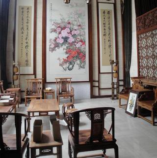 古典中式别墅装修实景图