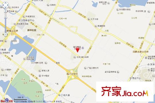绿地中央广场电子地图