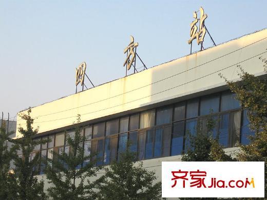 海岸馨园配套图周边配套:青岛四方火车站