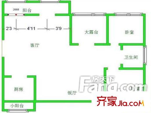 潍坊中天花园户型图,装修效果图,实景图,交通图,配套