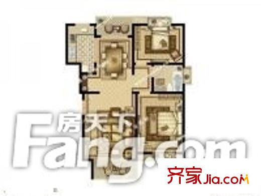 昆山阳澄湖世纪大楼户型图-齐家网小区库