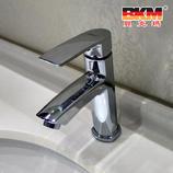 贝克玛卫浴 浴柜面盆龙头冷热水 BKM-704 单孔龙头