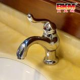 贝克玛卫浴 浴柜面盆龙头冷热水 BKM-511 单孔龙头
