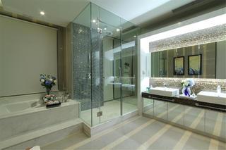 新古典别墅装修卫生间效果图