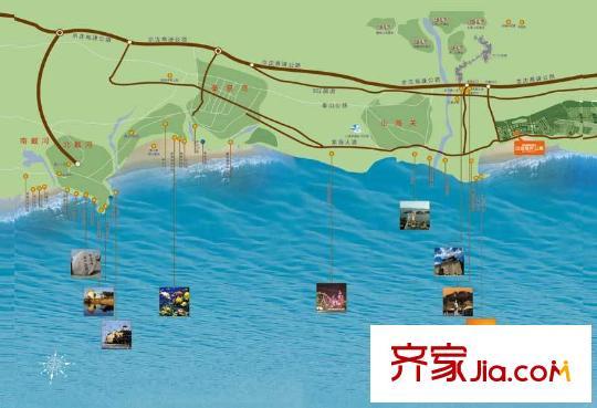 秦皇岛当代东戴河白金海moma小区详情和图片