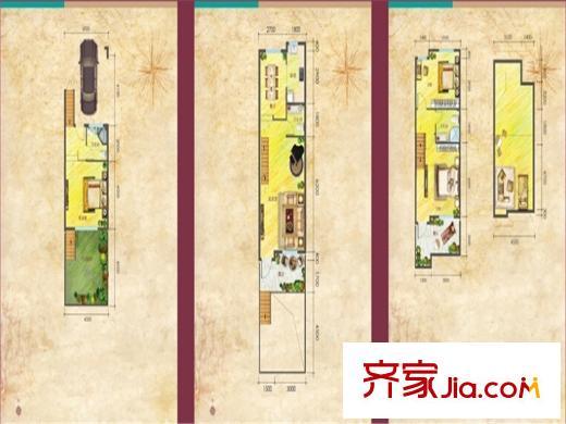 平?9?+?.?9.b9?#??'_万润北京运河湾项目b9户型 3室3厅2卫1厨