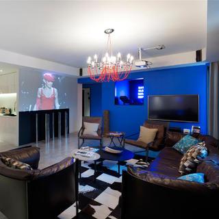 180平高级公寓装修设计图