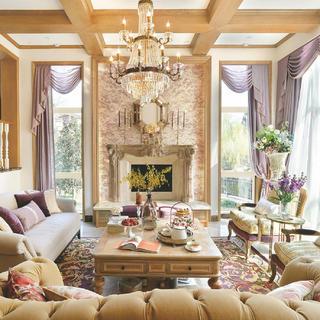 法式别墅装修设计 华丽精致