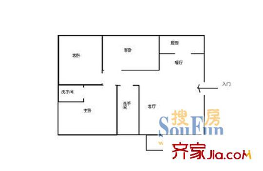 深圳罗马公元户型图-齐家网小区库