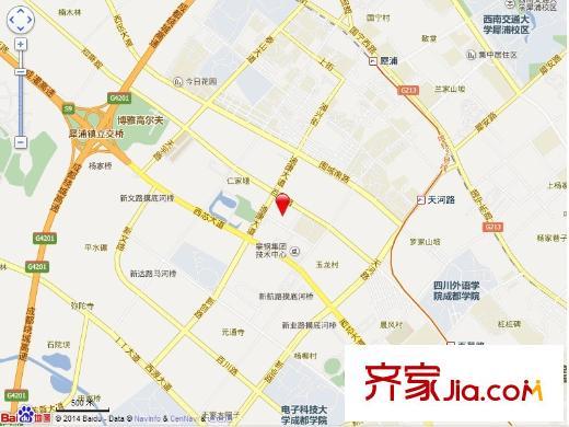 金辉悦府电子地图
