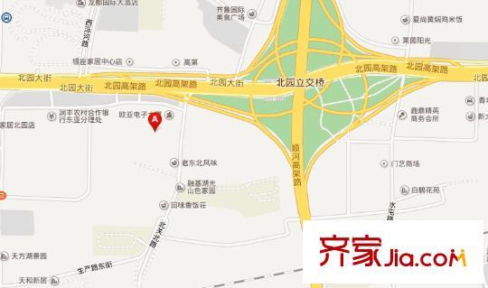 白鹤稽查站地图