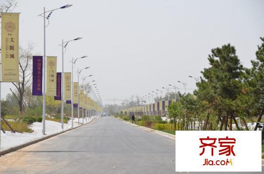 卓达太阳城马路(2011-5-12)