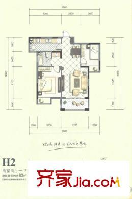 桂林兴进御园平面图