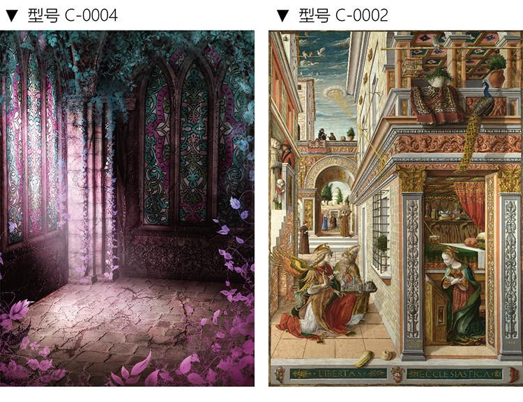 天洋竹炭纤维无缝壁画壁布欧式古典客厅沙发背景墙油画高档墙布